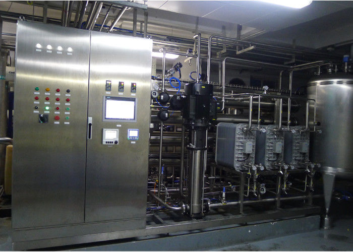 Pharmaceutical GMP ultra pure water RO EDI Water Treatment With Automatic PLC controller