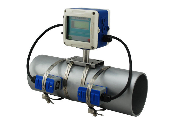 Doppler Fixed Clamp On Ultrasonic Flow Meters By Sound Wave To Determine Velocity Of Waste Water