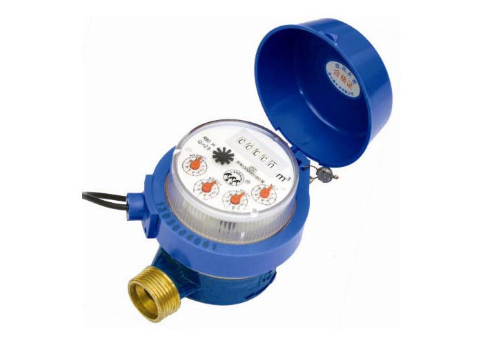 DN15, 1/2 Inch Multi Jet Water Meter For Water Utility Brass Housing 2%, Nb-IoT