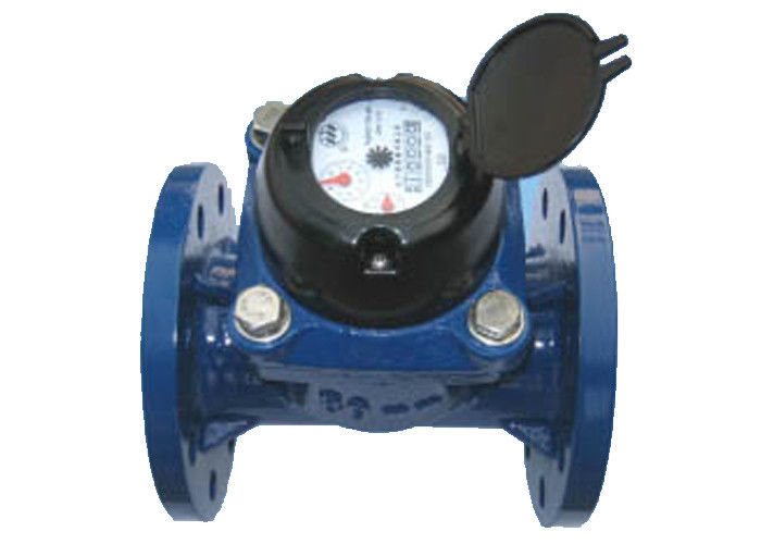 Horizontal Vane Wheel Cold Woltman Water Meter DN125 With Remote Reading Transmitter