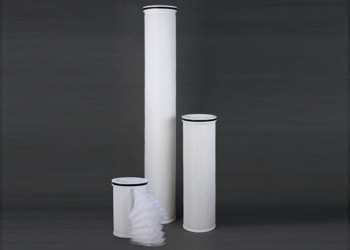 High Flow Pleated Cartridge Filter Vessels For Industrial RO Water Treatment