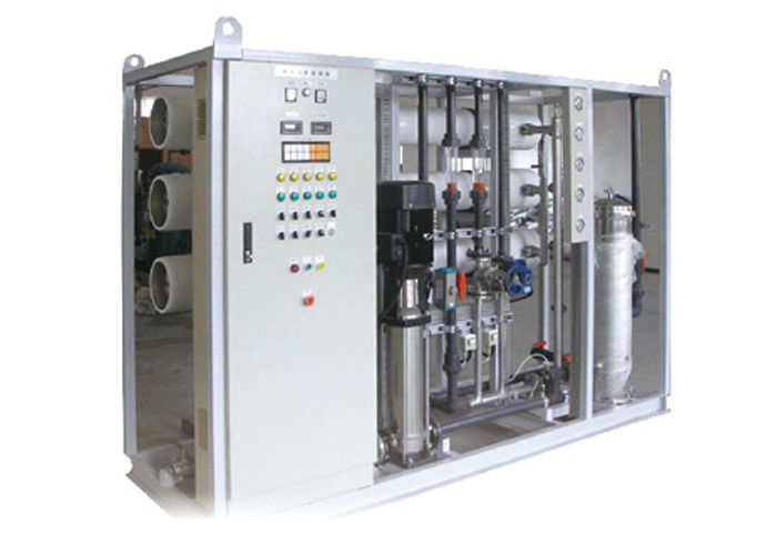 Commercial seawater reverse osmosis system for seawater desalination 60000GPD 10m3/hour
