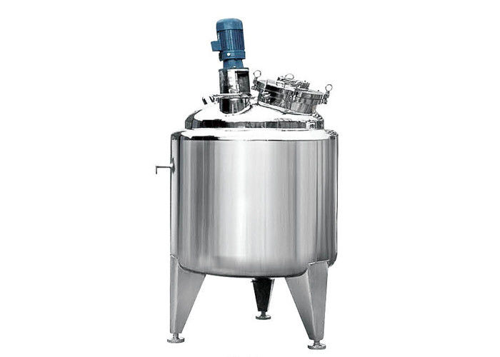 Stainless steel vertical single layer storage tank for thick preparation tank 8000L